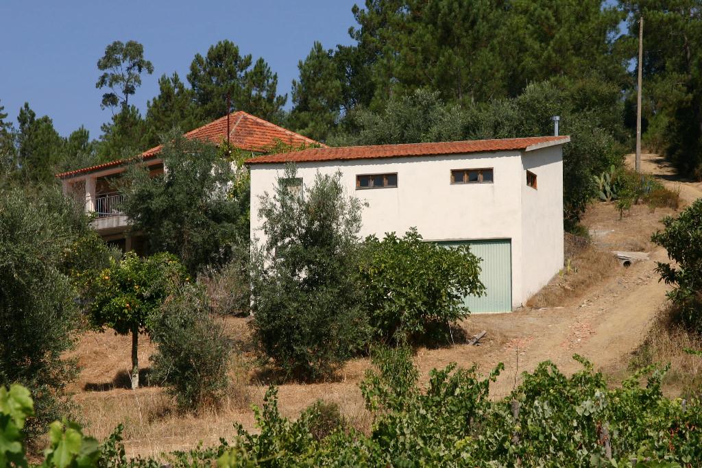 Casa Baixa vanaf de weg